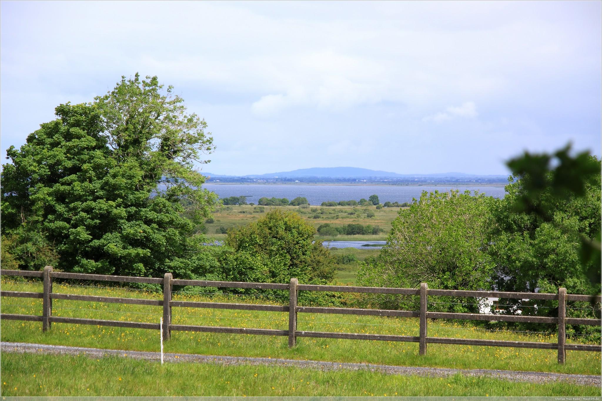 Blick über den Lough Corrib