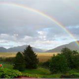 Regenbogen über Connemara