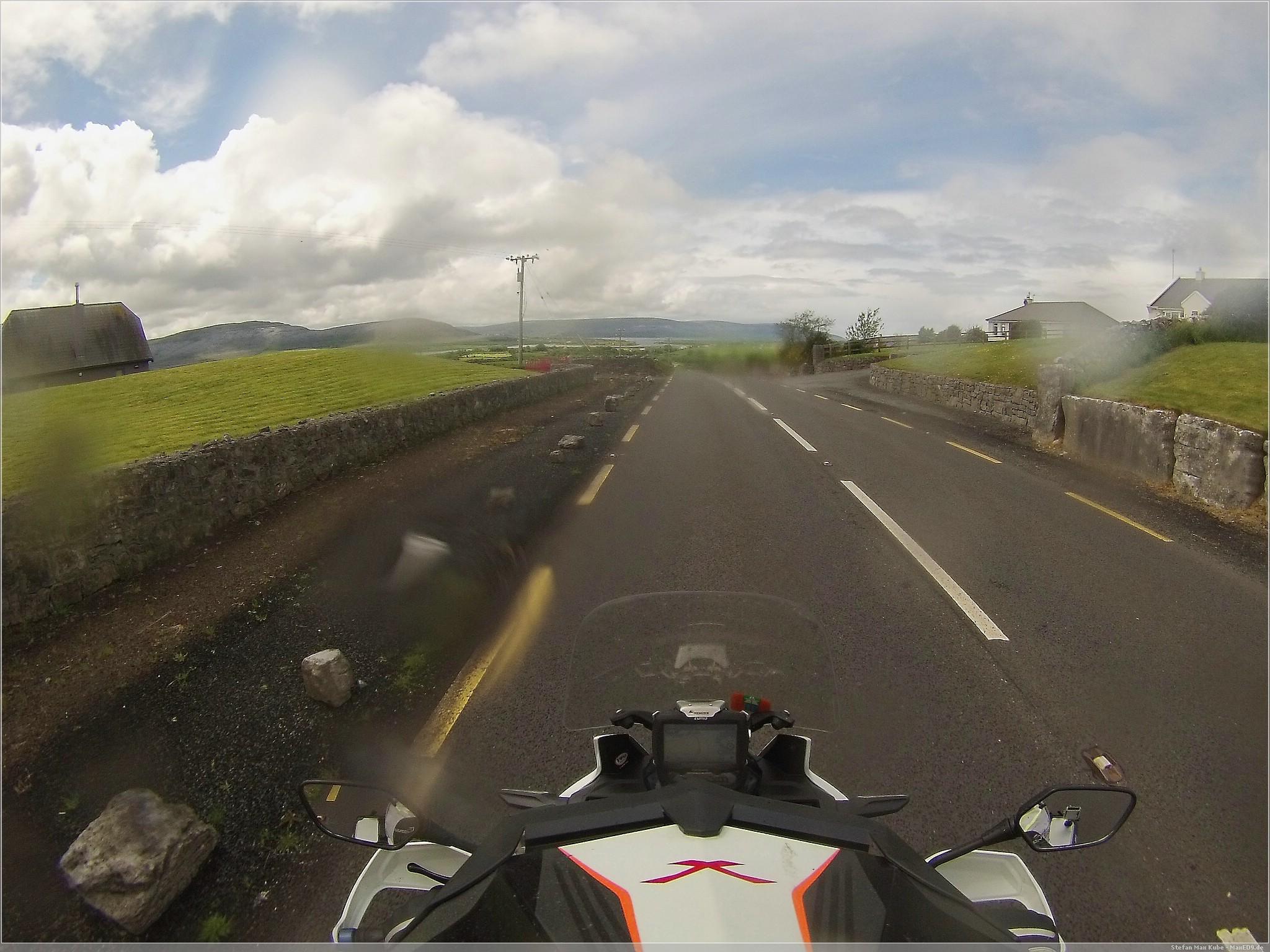 auf dem Weg zu den Cliffs of Moher