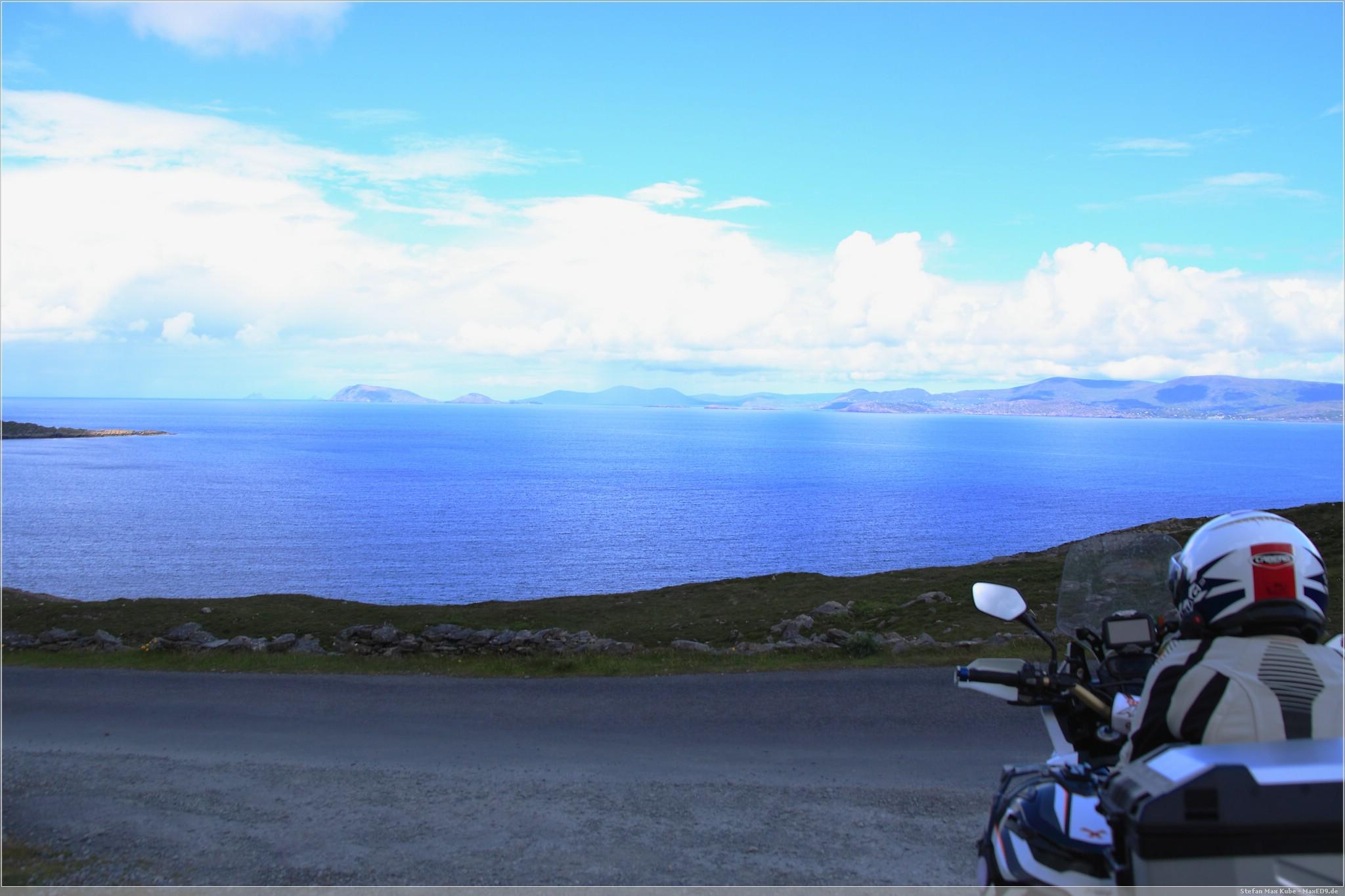 Blick auf den Atlantik bei Caherkeen