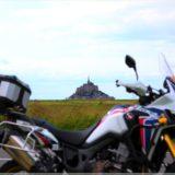 die Reisebraaap vor Le Mont-Saint-Michel