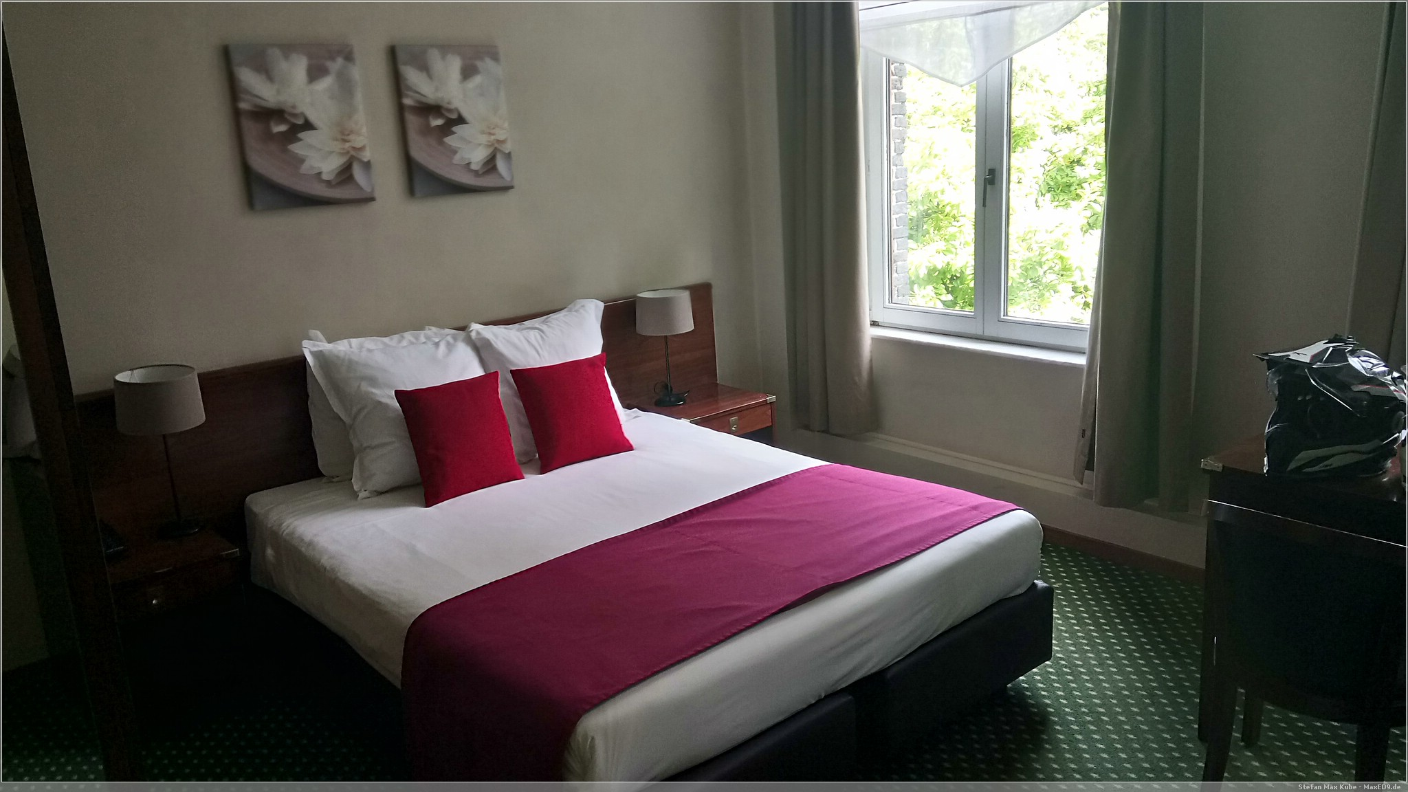 das Zimmer in Mons, Belgien