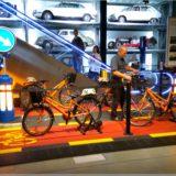 VR-Radfahrt im Verkehrshaus der Schweiz