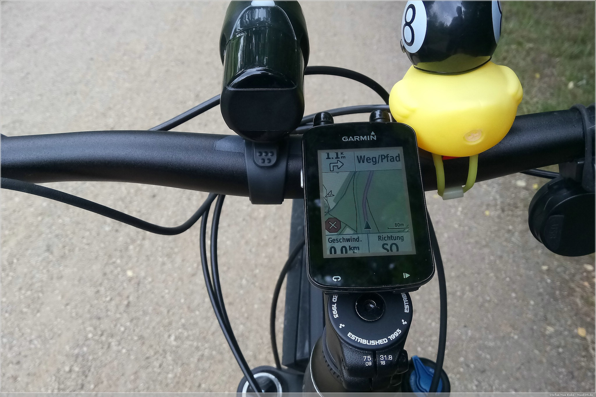 Garmin Edge 820, Routing