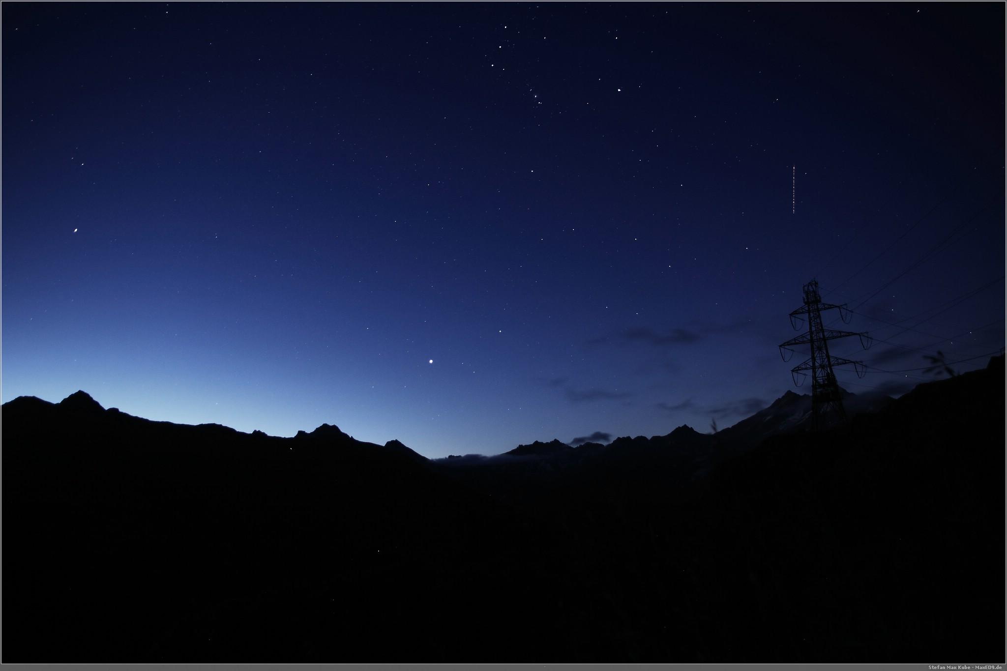 Sterne über dem Grimsel