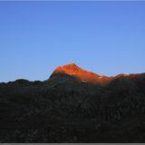 Sonnenaufgang am Grimsel