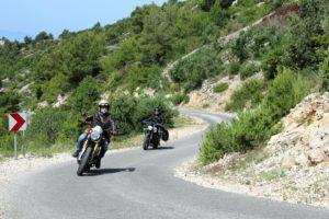 Horst Lichter sucht das Glück - mit dem Motorrad durch ... (Quelle ZDF)