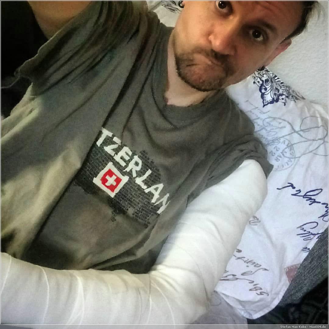 gebrochener Arm