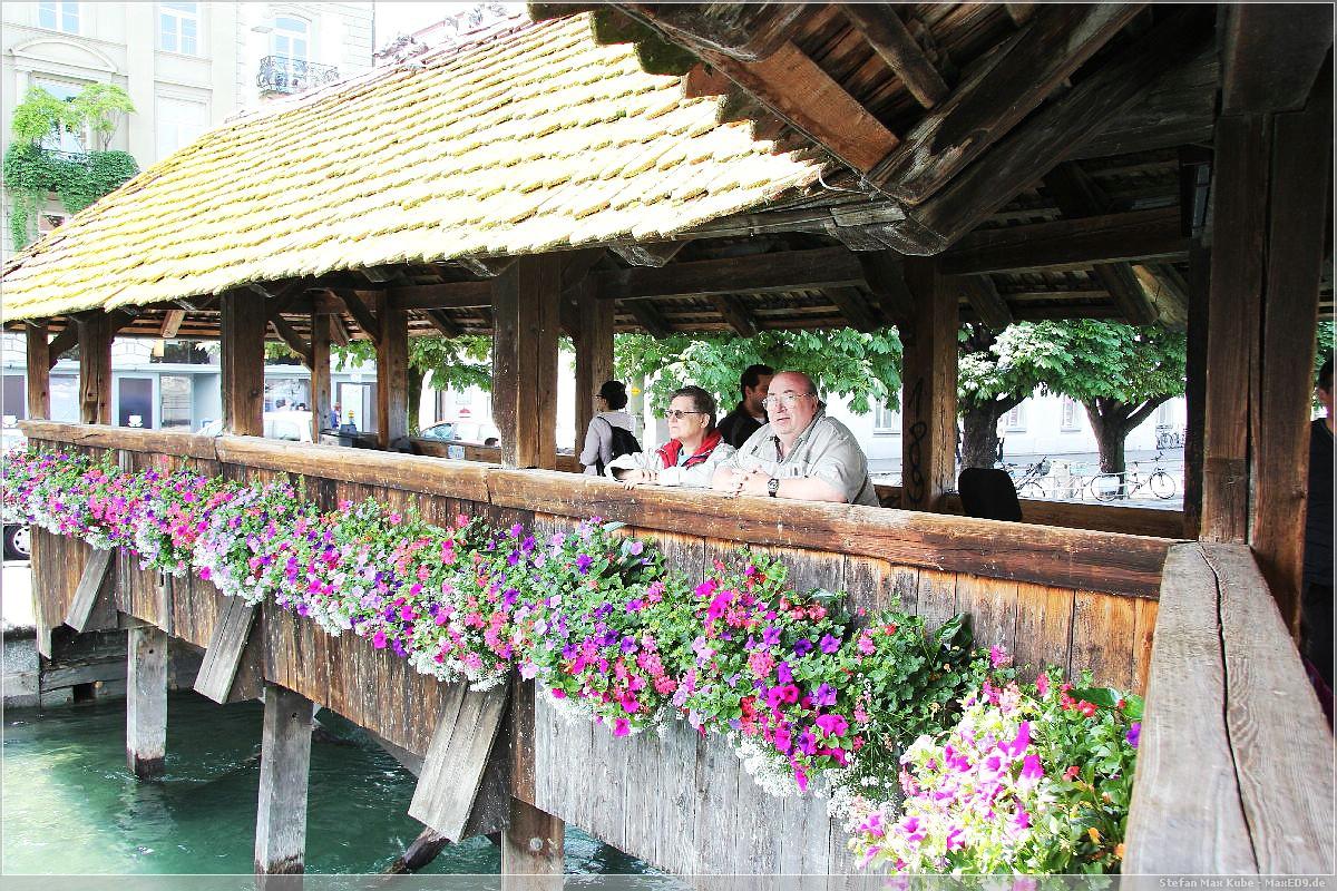 Vater und Mutter in Luzern