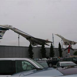 Technikmuseum Sinsheim, TU-144 und Concorde