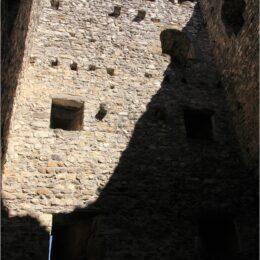 Ruine Wartau, St. Gallen, Schweiz