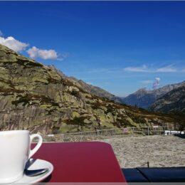 Kaffee in den Bergen