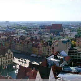 Blick über Breslau