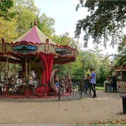 Karussel im Zwingerpark