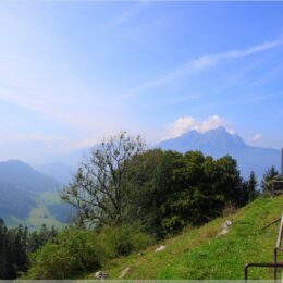 Blick zum Stanserhorn