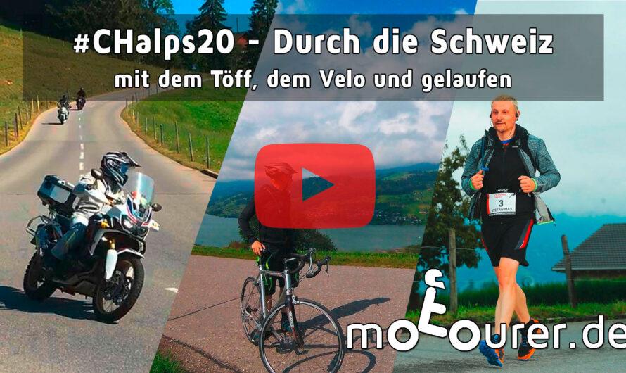 #CHalps20 – durch die Schweiz