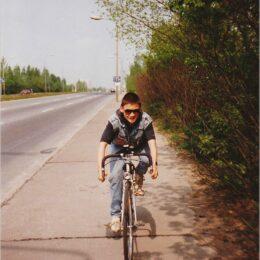Rennrad Marke Eigenbau Anfang 1990er