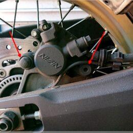 Hinterradbremse Honda Africa Twin CRF1000L