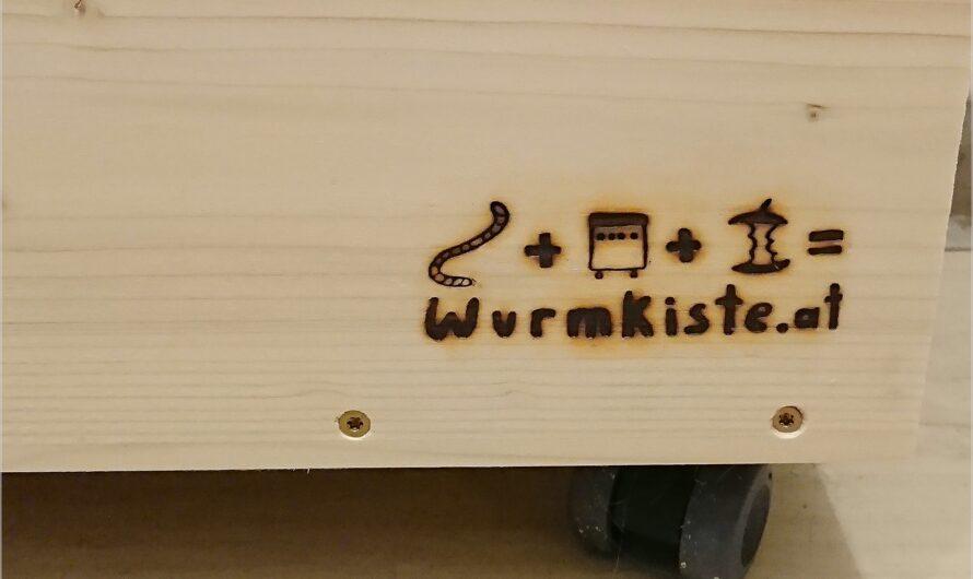 zusammengebaut: der Komposter für daheim oder auch Wurmkiste genannt