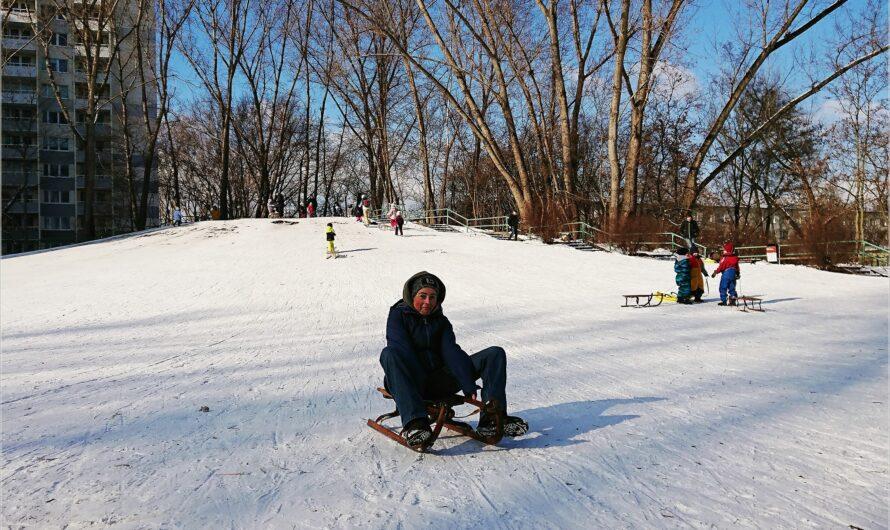 eingeschneit: Sport im Winter … oder so