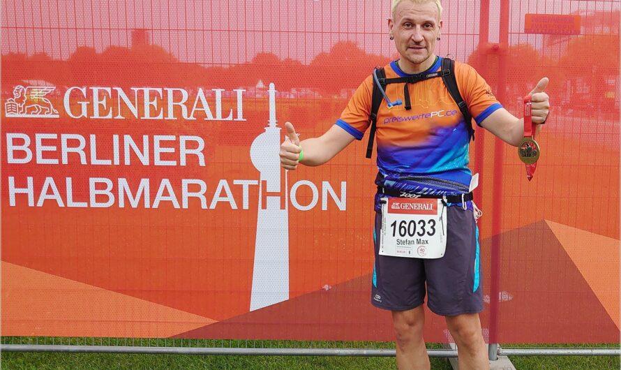 gelaufen: 40. Generali Berliner Halbmarathon