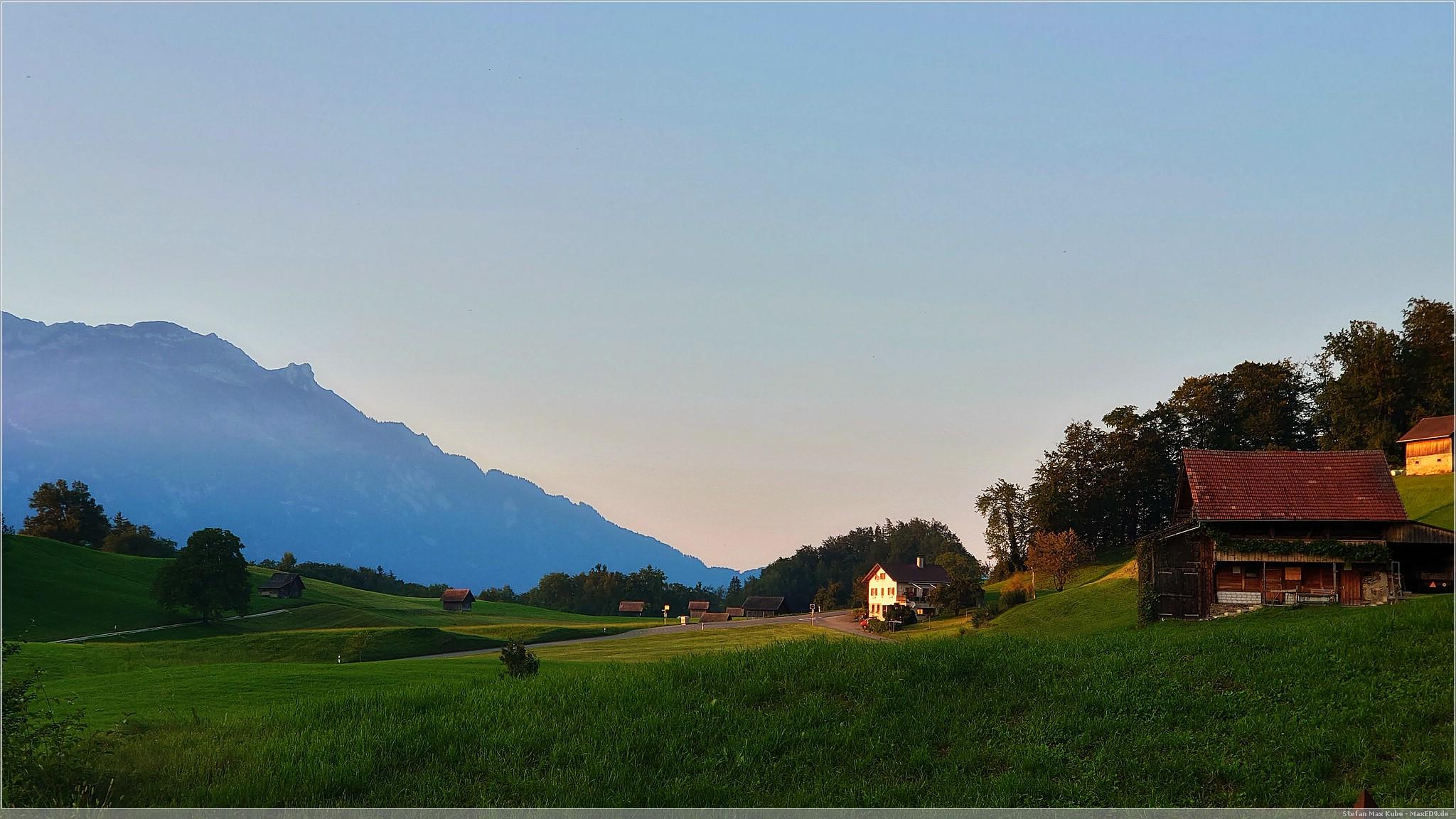Abendstimmung in Obwalden