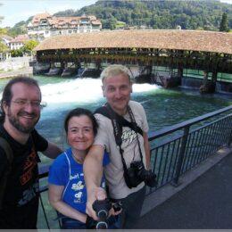 drei Reisende in Thun