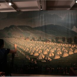 Ausstellung Schwerter, Degen, Säbel, Schloss Thun